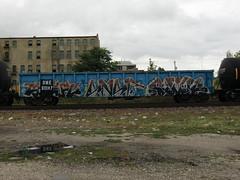 09-01-10 (33) (This Guy...) Tags: road railroad car train graffiti box graf rail rr traincar boxcar graff 2010