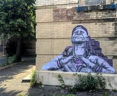 Spring Garden Street x 10th (NETHER STREET ART) Tags: street art philadelphia paste wheat baltimore philly nether nether410