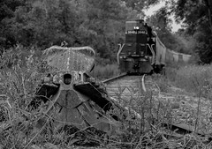 Track End (Joseph Bishop) Tags: railroad train track tracks rail railway trains rails railfan brantford burford 3840 sor emd gp402 ingenia necr southernontariorailway rlhh burfordspur