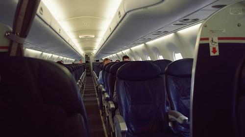 Onboard Embraer ERJ-190 First Class - US Airways