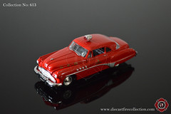 No. 613 | RACING CHAMPIONS | 1949 Buick Riviera Chicago Fire Dept (www.diecastfirecollection.com) Tags: chicago metal toy fire buick model riviera collection 164 emergency feuerwehr bomberos department fuoco 1949 dept fd diecast pompiers racingchampions