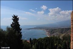 insenature (imma.brunetti) Tags: panorama alberi nuvole mare sicilia golfo motoscafi