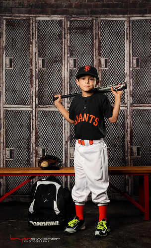 Little League Portrait