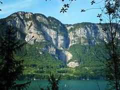 Walensee, Switzerland (d/f) Tags: blue lake cold water waterfall wasser waterfalls blau kalt walensee lakewalen serenbachflle heerweg rinquelle lakewalenstadt serenbach salleren standenhorn geerenweg