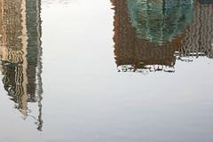 Inge Hoogendoorn (ingehoogendoorn) Tags: reflection water skyline architecture upsidedown thenetherlands denhaag thehague architectuur reflectie ministerievanjustitie ondersteboven ministeries ministerievanbinnenlandsezaken architecturelove ilovedenhaag