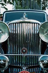 Jaguar MkIV (Iain Compton) Tags: car classiccar filmphotography kiev10 cassoviaclassic