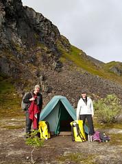 Backcountry camping in Denali NP - Alaska