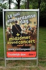 Midzomer avond concert (Davydutchy) Tags: netherlands june advertising poster evening concert reclame nederland announcement frise avond werbung paysbas friesland niederlande midzomer 2016 joure frysln frisia langweer langwar amsterdamsedag dejouwer