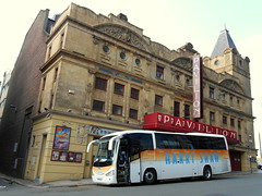 Harry Shaw, Coventry, YN15 ELX (miledorcha) Tags: street city travel century coach holidays theatre glasgow harry pavilion coventry tours shaw touring cruisers scania psv pcv renfield irizar k340 k340eb4 yn15elx