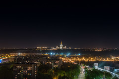Night Moscow.jpg (Vladimir_Parfenov) Tags: city night landscape cityscape russia moscow