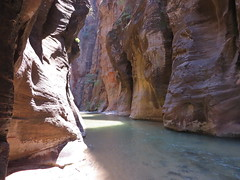 Inside the Zion Narrows (KennethVen) Tags: park utah national zion narrows