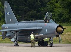 Lightning (Bernie Condon) Tags: vintage fighter military lightning preserved raf coldwar warplane bac interceptor supersonic englishelectric bruntingthorpe coldwarjets