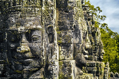 The Faces of Bayon (Franz - Jimenez) Tags: cambodia camboya buddha buda face faces stone temple bayon angkor wat unesco legend jungle landscape asia southeast canon eos600d 50mm travel adventure backpack packpacking globetrotter backpacker
