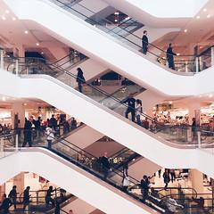 Lattice (Olly Denton) Tags: uk 6 colour london apple lines shop architecture shopping design store mac interior departmentstore ios lattice shoppers iphone sloanesquare peterjones kensingtonchelsea vsco iphone6 vscocam vscolondon