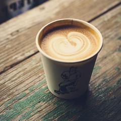 Little Nap coffee stand, Tokyo (yulialisitsaphoto) Tags: coffee japan shop tokyo cappuccino