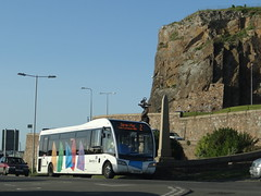Libertybus 326 (Coco the Jerzee Busman) Tags: ct plus libertybus coach jersey uk channel islands hct group
