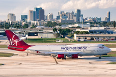 Virgin Atlantic 747 - Fort Lauderdale (Ron Raffety) Tags: virgin fortlauderdale boeing747 747 747400 fll boeing747400 virginatlanticairways gvhot virgingroup charterflight downtownfortlauderdale ronraffety ronraffetyphotography virginempire 747charterfll virginatlanticcharterflight 747fll virginatlantic747charterflightfll virginatlanticfll 747fortlauderdale virginatlantic747fll