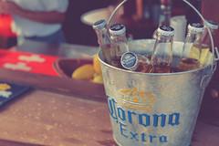 Corona  - Beer (gminguzzi) Tags: ice beer bar drunk lemon cocktail corona alcool birra barman pivo beachbar birre secchiello shacker
