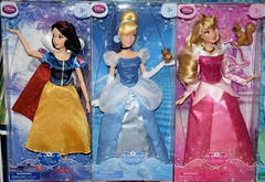 2016 Disney Princess Classic 12'' Dolls - US Disney Store Purchase - Boxed - Stacked - Snow White, Cinderella, Aurora - Front View (drj1828) Tags: us doll release aurora cinderella boxed snowwhite purchase disneystore 12inch 2016 classicprincessdollcollection