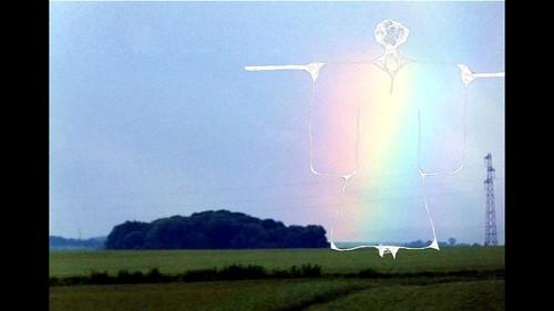 Rainbow Scare Crow Angel Kimono Kaftan Slideshow 34 variations Regenbogen Engel Vogelscheuche Antonius von Padua von Lissabon Schnittmuster Diashow 34 Variationen, Work in Progress Paper Pattern Cut Sheet - an Ort und Stelle