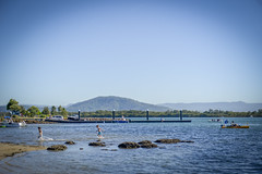 Exploring the River at Greenwell Point (Visit Shoalhaven) Tags: family holiday playing water river point fun boats coast fishing rocks jetty south running shoalhaven unspoilt greenwell