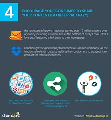 Encourage customer to share your content (Social Media & Content Curation Platform) Tags: design internet content email growth hacks hacking facebook linkedin analytics commmunity reddit twitter quora infograpic drumup drumupio
