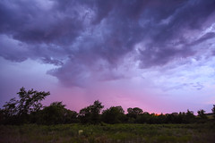 15Jun2016 Storm (thefisch1) Tags: pink sunset sky cloud storm tree rain calendar wind nimbus horizon hill pasture kansas thunderstorm prairie flint turbulence intersting oogle priarie shear cumulo