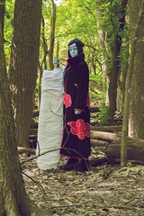 Photo Jun 21, 10 36 35 AM (Eye Of A Panda // Photography) Tags: anime forest cosplay manga cosplayer naruto acen akatsuki animecentral animeconvention kisame minnesotaphotographer kisamehoshigaki cosplayphotography midwestphotographer cosplayphotographer midwestcosplayer acen2016 animecentral2016