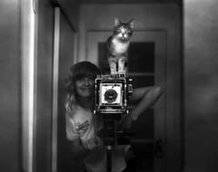 (Elizabeth Ann Aguilera) Tags: new portrait film self mexico fuji graphic kodak albuquerque d76 xray crown developed graflex 135mm radiograph optar yahico