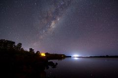 Shoalhaven River Milkyway (PhilliB123) Tags: canon river stars coast long exposure south tokina nsw t3i milkyway shoalhaven 600d 1116mm