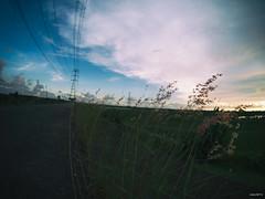P6241396 () Tags: sunset clouds taiwan olympus fisheye tainan   omd 75mm samyang em5