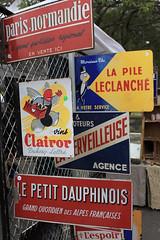 Signes Francais (skipmoore) Tags: signs metal sanrafael porcelain francais signes frenchantiquesfair