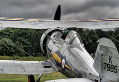 Gloster Gladiator (Jonathan Saull) Tags: silver aviation aeroplane airshow ww2 hdr biplane airdisplay photomatix ww2fighter glostergladiator historicaircraft olympusomdem1 olympusmzuiko40150ed28pro