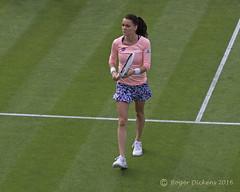 Agnieszka Radwanska (2) (Roger Dickens) Tags: birmingham tennis aegon edgbaston sigma105mm radwanska pentaxkr