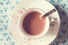 Hot chocolate (WillemijnB) Tags: cup tasse vintage chocolate hotchocolate kopje chocolademelk chocolatchaud warmechocolademelk