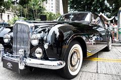 Bentley S Continental (1951) (indleaf) Tags: bentley s continental 1931 charter road car show hong kong central mounment vintage black shiny 1951