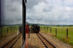 Churchill meets Hurricane (std70040) Tags: hurricane railway steam steamengine steamtrain steamlocomotive romneymarsh rhdr romneyhytheanddymchurch romneyhytheanddymcurch wionstonchurchill
