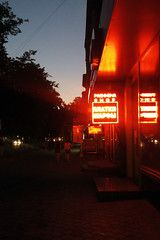neon neon on the wall (Yuki-a-Gogo!) Tags: nightphotography neon noir chisinau moldova neonsigns kishinev neonnoir