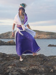 Shooting Sinbad - Magi, the Labyrinth of Magic - Giens - 2016-06-03- P1410867 (styeb) Tags: shooting sinbad magithelabyrinthofmagic giens presquile 2016 juin 03 mer tombee nuit madrague reserve naturelle