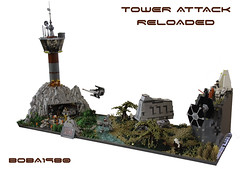 Tower Attack - reloaded (Boba-1980) Tags: tower star comic lego stuttgart luke attack solo r2d2 xwing wars con han legoland c3po ausstellung skywalker ids moc ldc foitsop microfighter imperiumdersteine microfighters