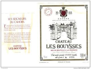 25 Château les Bouysses 1988