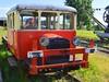 vintage railroad vehicle (mujepa) Tags: railroad vintage wagon gare vehicle campagne 1929 sncf motrice draisine vigy 2p417