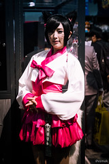 Anime Expo 2016 (vsmak350) Tags: animeexpo animeexpo2016 ax ax2016 leagueoflegends cosplay ahri spiralcats tasha doremi