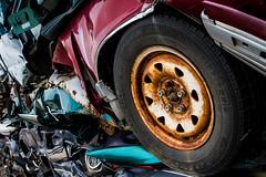 Mobility (ranzino) Tags: unitedstates pennsylvania tires pa hazleton junkyard rejected crushedcars gettysubmit westhazleton harrysupullit 201309
