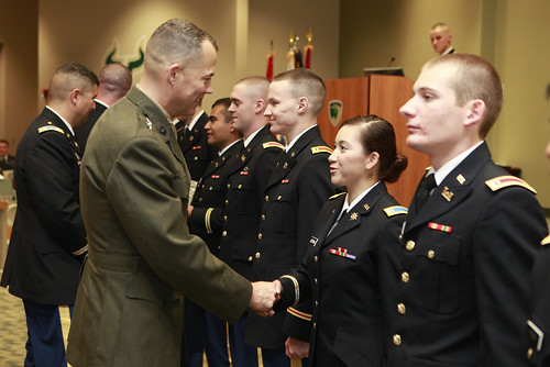 CENTCOM senior leader speaks at USF officer commissioning ceremony