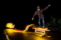 ( 7F ) Tags: light lightpainting painting skateboard skatebording