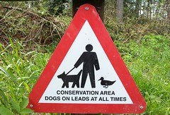 Sign at Linacre Reservoirs (Charles Wildgoose) Tags: dogs sign notice conservationarea linacrereservoirs flickrandroidapp:filter=none
