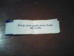 Fortune Cookie Message (CSUMB-Japan Exchange) Tags: message fortunecookie fortune csumbjapanexchangecsumbjapanwlccsumbintlexchnonverbal berm1374