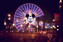 End of the night. (chris.alcoran) Tags: california wheel canon fun mouse photography long exposure disneyland crowd 85mm disney mickey adventure dca mickeys disneycaliforniaadventure
