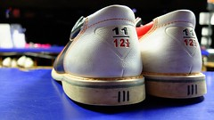 bowling anyone? (symsym001) Tags: new york june island li alley shoes long fuji bokeh 11 size bowling amf fujifilm x10 commack flickrfriday thelivesofothers june2013 fujifilmx10 fujix10 amfcommackvetlanes